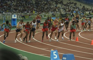 Olympic Distance Runners