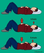 diaphragmatic-breathing-exercise-while-lying-down