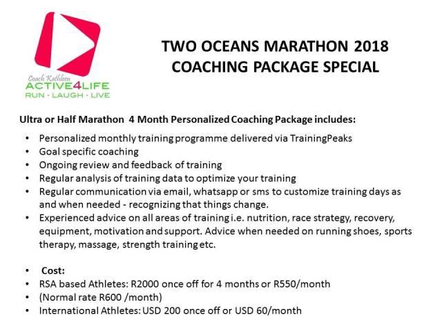 Two Oceans Marathon Special